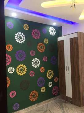3bhk floor new ready to shift and 90% loan by bank