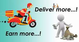 Requirement of delivery executives for guwahati
