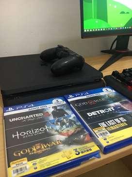JUAL PS 4 SLIM 500 GB MULUSS JARANG PAKAI