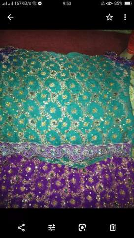 Wedding and walima lehnga