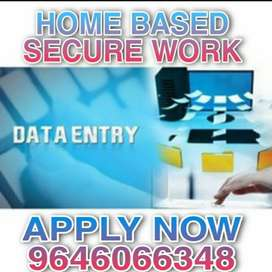 Contact us for the job.. You are into simple data entry home based job
