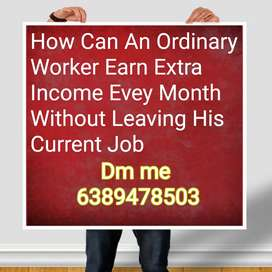 We are looking candidates who wants to earn high income...