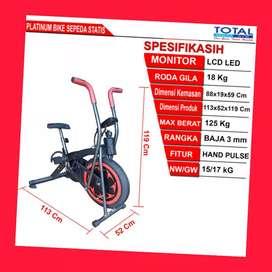 jual sepeda statis platinum bike total G-067 alat fitnes kudus