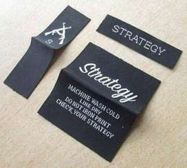 Woven Labels Printing l Embroidered Labels l Labels Printing