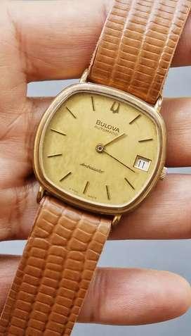 jam tangan vintage Bulova Ambassador
