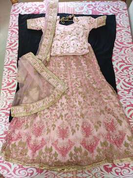 Only 1 hour used stitched Wedding Lehenga for sale.