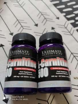 Ultimate L-Carnitine 60 Tab Pembakar Lemak Fatloss Penurun Kolestrol