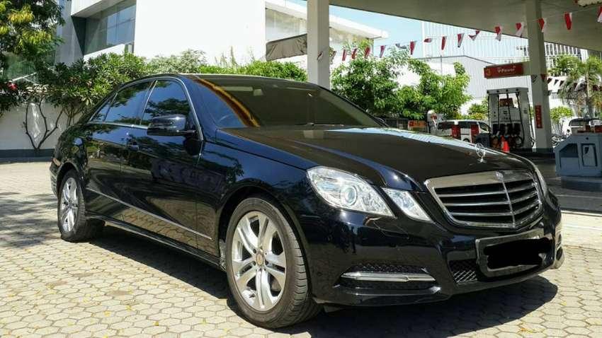Mercedes Benz E300 AVG 2010 Black On Black sangat terawat 0