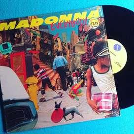 Vinyl Piringan Hitam Madonna - Everybody (USA)