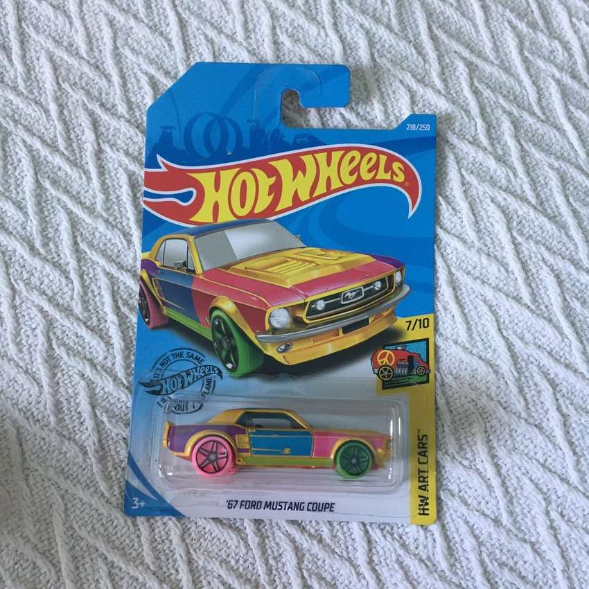 Hot Wheels HW Art Cars 67 Ford Mustang Coupe 0