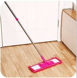 Wet and Dry Cleaning Flat Microfiber Floor Cleaning Mop