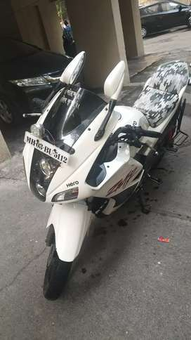 222 cc Good Condition one hand use mailege 40 km per litter