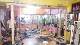 All gym equipment