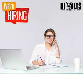 Female Social Media Coordinator and Customer Relations Officer