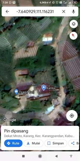 Tanah belakang rumah
