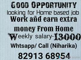 Manual hand writing home based Job