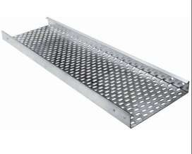Cable Tray Hot Dip Galvanized powder coated GI All type of accessories