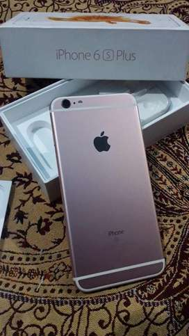 Iphone 6s plus rose gold 32 GB only 7 months old