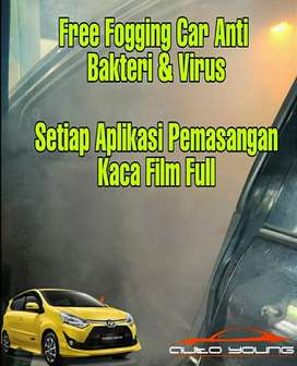 Promo Full Kaca Film Black Platinum Free Fogging Car Virus & Bakteri