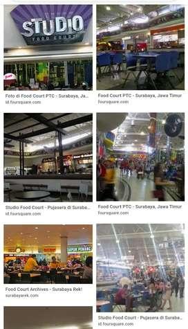 Stand Foodcourt PTC Pakuwon Trade Center jejer Pakuwon Mall  Supermall