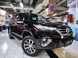 New Fortuner VRZ diesel matic AT 2017 pmk 2018 hitam matik Surabaya