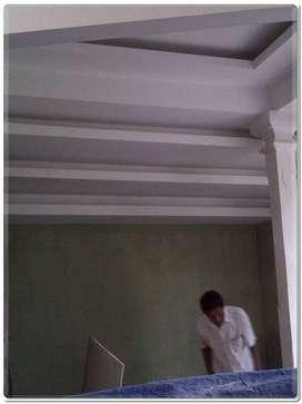 Jasa Borongan Pasang & Renovasi PLAFON GYPSUM & GYPSUM Batang Hari~