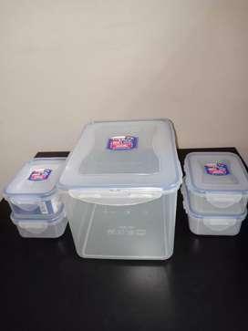 Dijual Lock And Lock Container / lunch box / kontainer / kotak makan