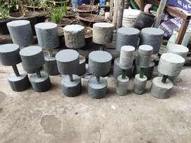 All size Concrete doumbles  available