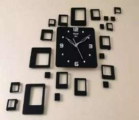 clock + home decor