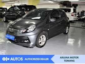 [OLXAutos] Honda Brio 2013 1.3 E A/T Bensin Abu-abu #Arjuna Tomang