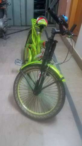 Bicycle like a new condition