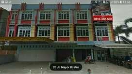 Dijual Ruko Mayor Ruslan 3 Lantai Palembang