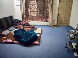 Space for single person Male in a shared room at a portion in G-9/4