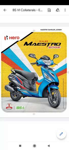 Hero Maestro Edge FI at Finance & Exchange Offer! Upto Rs.5000 off