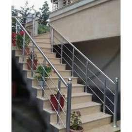 Reling tangga stainliesss 34