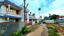 New 3bhk villas in Paravoor town with bank loan.