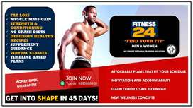 Personal Fitness and Wellness Coach