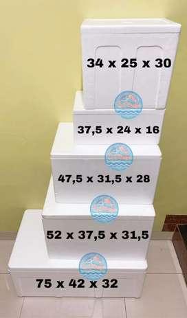 Styrofoam box,butiran,lembaran