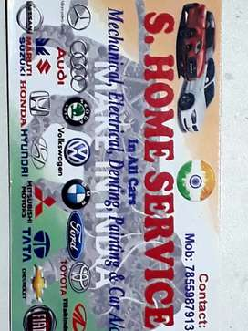 Home servise all cars repair machine electrical ac service charges 100