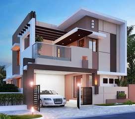 3 Bhk Flat_villa for rent_ Kondayampalayam_East Facing