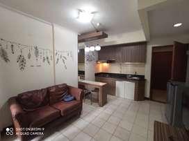 Di sewakan per 3 bulan full furnish apartemen mediterania palace