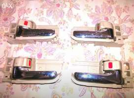 Door handles of corolla Xli, A/c saloon, Gli, Altis.