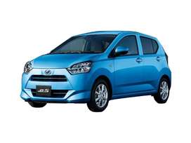 get daihatsu mira car on easy year plan