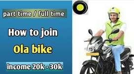 Ola bike riders Free joining