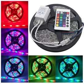 Led Strip RGB (1 Set Lampu langsung Nyala)