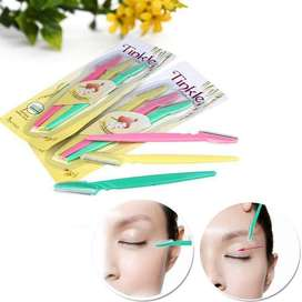 Tinkle Eyebrow Razor pack of 3 , Eyebrow Face Hair Removal