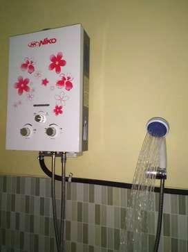 Water Heater Gas Tanpa Bobok
