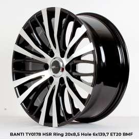 BANTI TY0178 HSR R20X85 H6X139,7 ET20 bmf