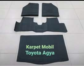 Karpet Mobil Toyota Agya Fullset