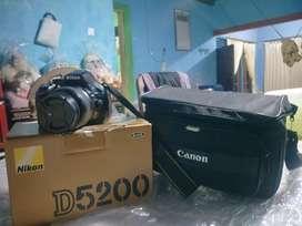 Nikon D5200 fullset